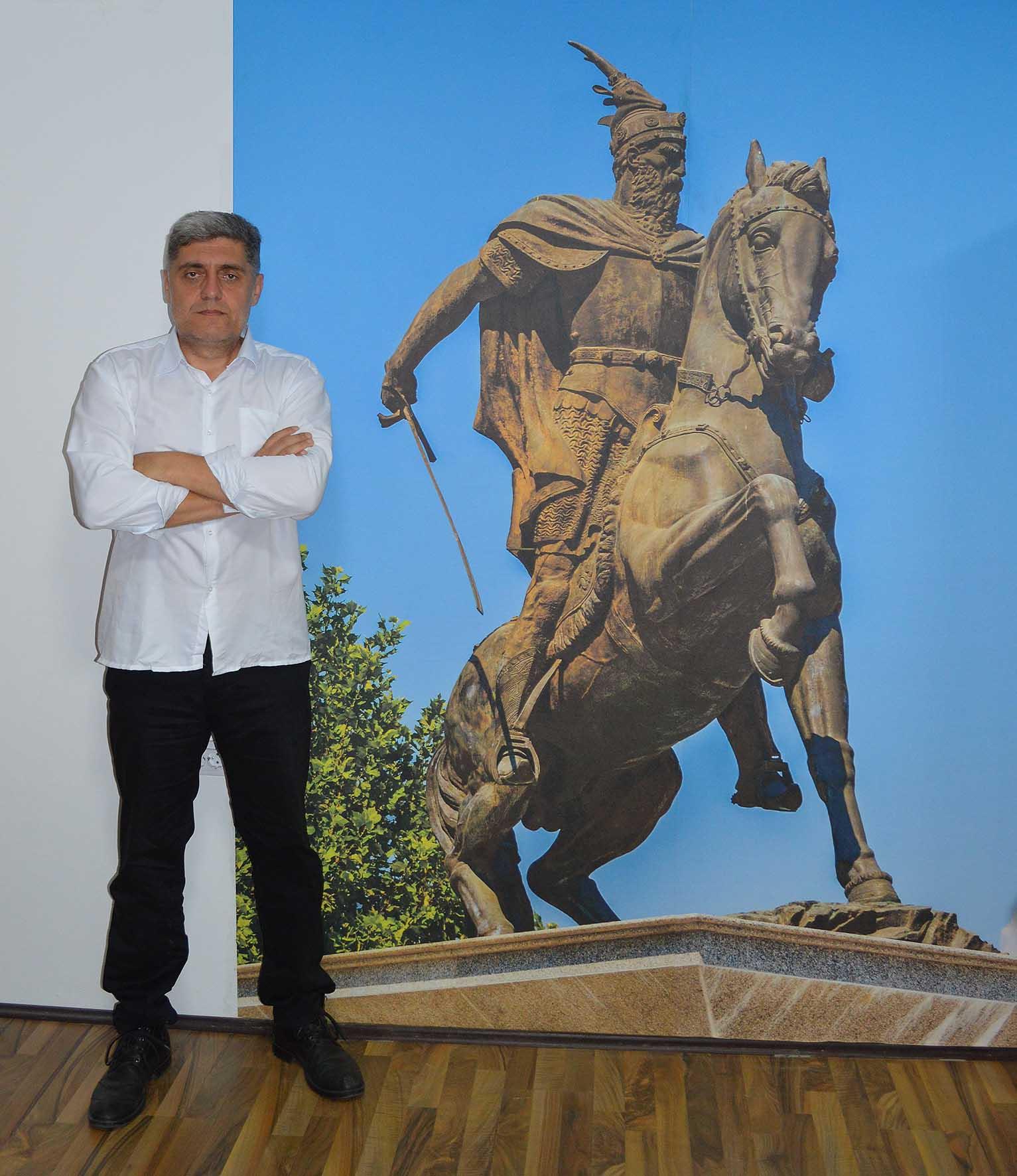 Фото тапет Скендербега
